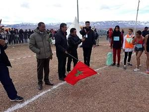 البطولة الاقليمية للعدو الريفي المدرسي 2019 بميدلت.