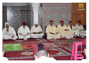 حفل ديني بميدلت بمناسبة ذكرى وفاة الحسن الثاني.
