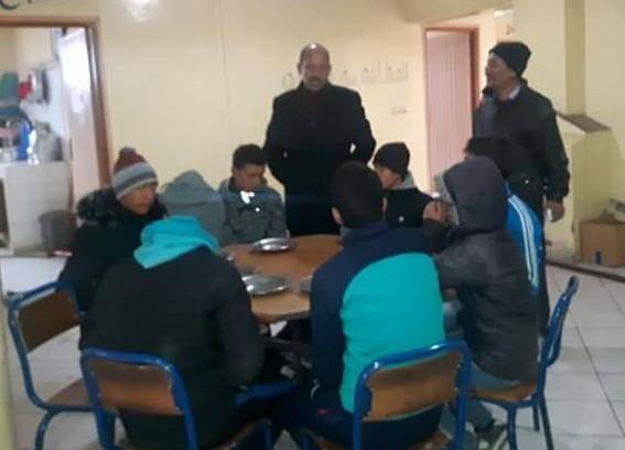 مع تساقط الثلوج المدير الإقليمي لوزارة التربية الوطنية بميدلت يقوم زيارة تفقدية لمؤسسات بتونفيت.