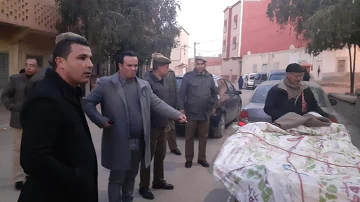 السلطات تباشر حملة ناجحة لتحرير الملك العام بميدلت.