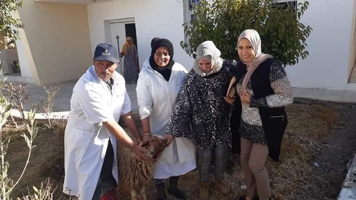 لاتيأسوا مازال الخير فهاد البلاد.دار المسنين بميدلت تحتفل بعقيقة مولود جديد.