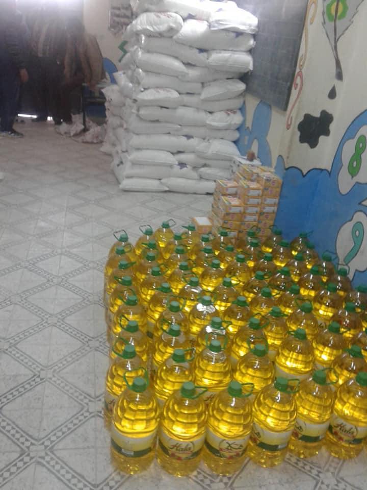 مبادرة انسانية جمعوية بقصر تاعكيت في زمن كورونا