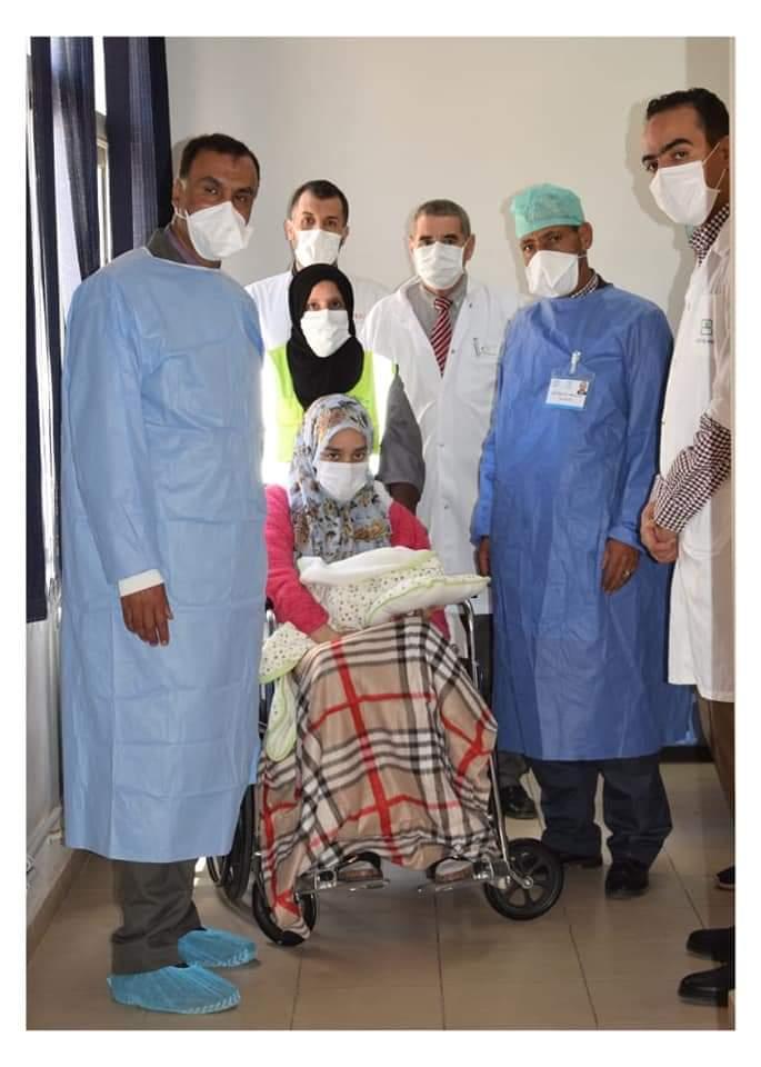 متعافية من فيروس كورونا منحدرة من الريش مولودتها بالمستشفى الإقليمي بميدلت