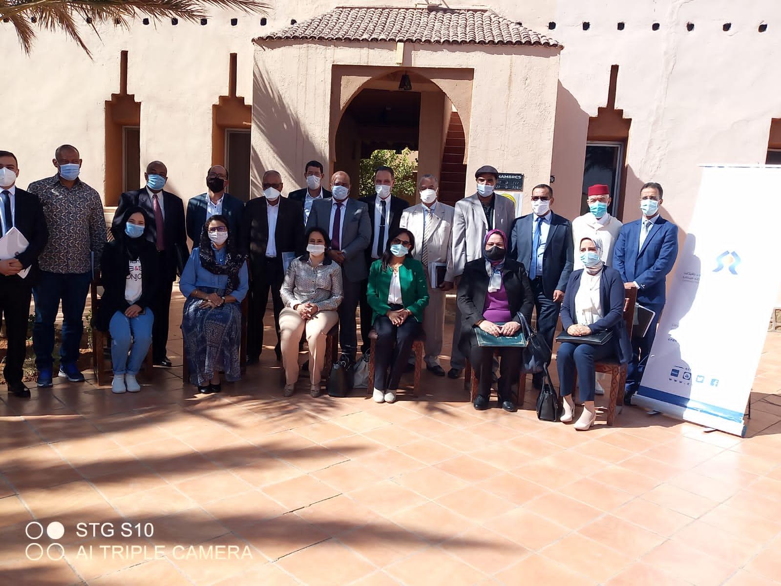 حفل تنصيب الأعضاء الجدد للجنة الجهوية لحقوق الإنسان بجهة درعة تافيلالت