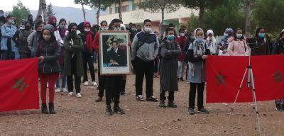 ثانوية مولاي يوسف الاعدادية بميدلت تحتفل بذكرى المسيرة وعيد الاستقلال