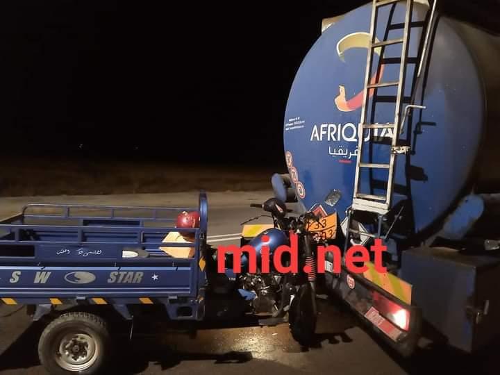 حادثة سير تودي بحياة شاب سائق تريبورتور يناضل لكسب لقمة العيش.