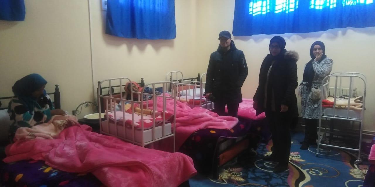 دار الأمومة باملشيل تستقبل الحوامل قبل الوضع وبعده.