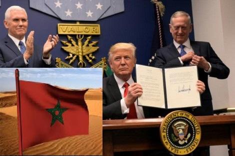 النص الكامل لاعتراف أمريكا بمغربية الصحراء: