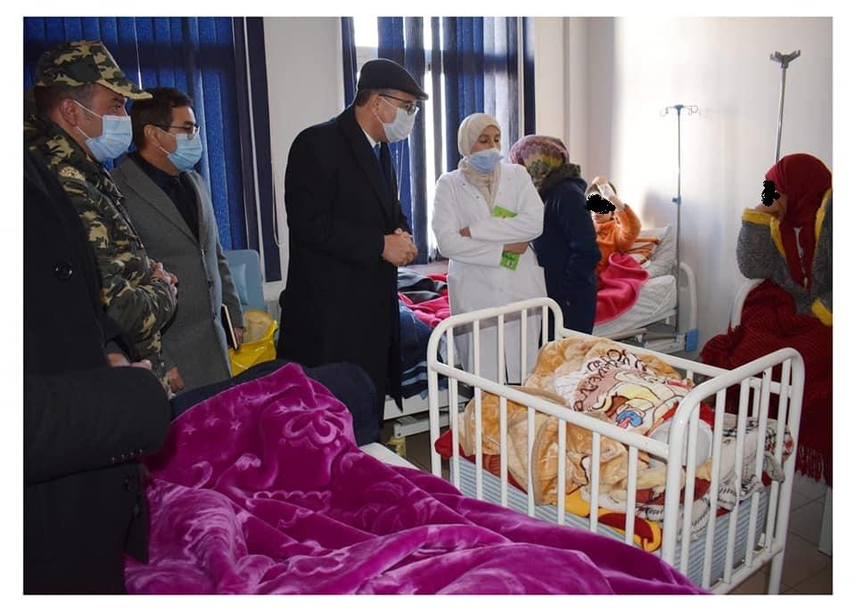 زيارة تفقدية لعامل الإقليم للمستشفى الإقليمي بميدلت.