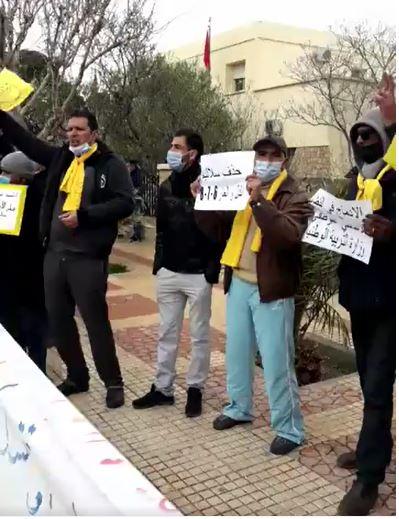 -CDT- مطالب 20 فبراير تعود لتصدح بميدلت .+فيديو