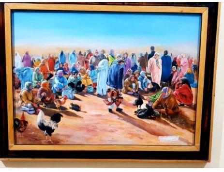 ابن مدينة ميدلت الاستاذ محمد الوج في مسابقة أفضل فنان تشكيلي عربي في العالم لعام2021 – دعمووووووه