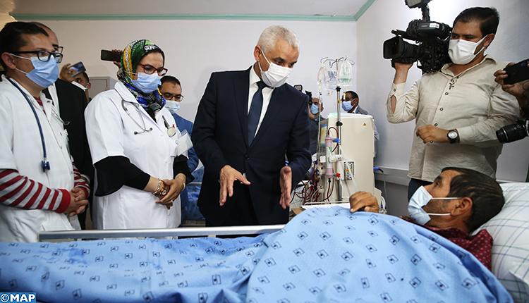 وزير الصحة يزور مركزين لتصفية الدم بإقليم ميدلت