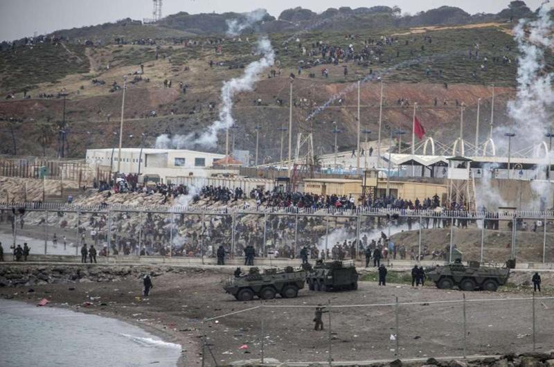 أمنيستي تدخل على خط احداث سبتة وتدعو إلى فتح تحقيق في اعتداءات القوات الاسبانية على مهاجرين مغاربة.