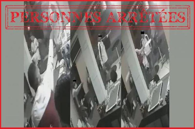 شرطة سلا تتمكن من توقيف 3 شبان ظهروا في فيديو يهاجمون مقهى بحي السلام بسلابأسلحة بيضاء.