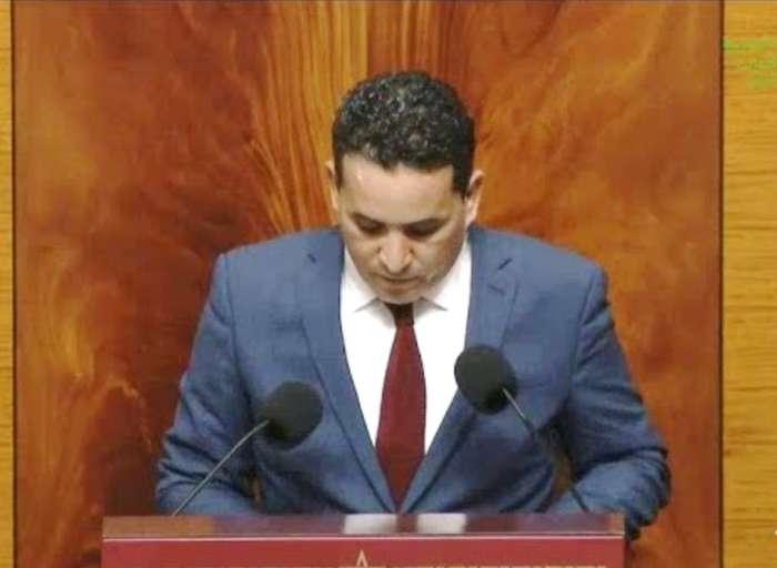 (حميد نوغو)الفائز بالوان الوردة بالانتخابات الجزئية بالرشيدية، يلتحق بصفوف حزب النخلة.