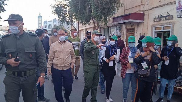 السلطة الإدارية المحلية بمدينة ميدلت في حملة توعوية حول أهمية التلقيح